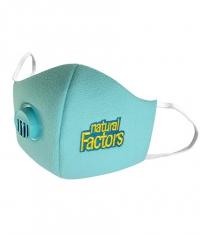 NATURAL FACTORS Face Mask / Light Blue