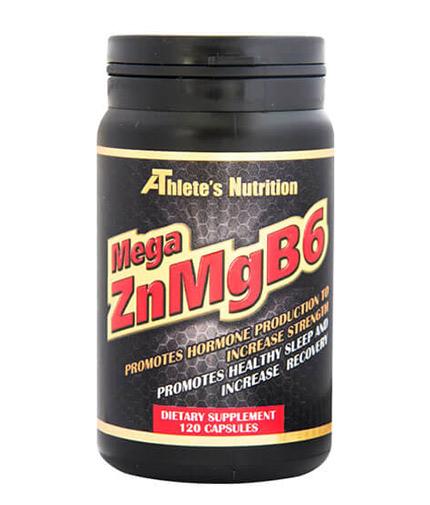ATHLETE'S NUTRITION Mega ZnMgB6 / 120 Caps