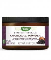 NATURES WAY Charcoal Powder / Activated charcoal from coconut