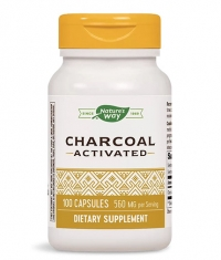 NATURES WAY Charcoal Activated 280 mg / 100 Caps