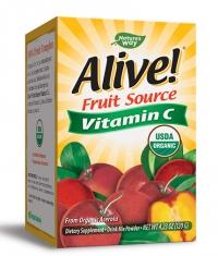 NATURES WAY Alive! Fruit Source Vitamin C / Powder