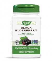 NATURES WAY Black Elderberry (Fruit and Flower) 575 mg / 100 Caps