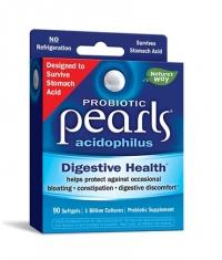 NATURES WAY Pearls Probiotic / 1 billion active probiotics / 90 Softgels