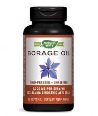 NATURES WAY Borage Oil 1300 mg / 60 Caps