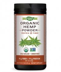 NATURES WAY Organic Hemp Powder with Protein and Fiber
