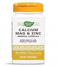 NATURES WAY Calcium, Magnesium & Zinc / 100 Caps