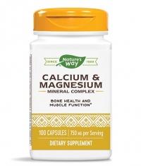 NATURES WAY Calcium & Magnesium / 100 Caps
