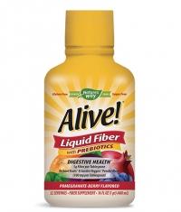 NATURES WAY Alive! Liquid Fiber With Prebiotics / 480 ml