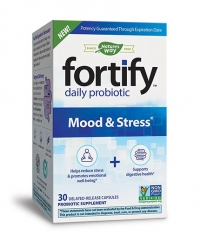 NATURES WAY Fortify Daily Probiotic Mood & Stress / 30 Caps