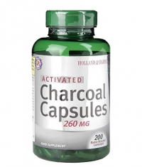 HOLLAND AND BARRETT Activated Charcoal 260 mg / 100 Caps
