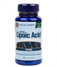 HOLLAND AND BARRETT Alpha Lipoic Acid 100 mg / 60 Caps
