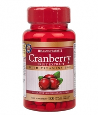 HOLLAND AND BARRETT Cranberry Fruit Extract 255 mg / 100 Tabs