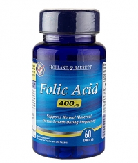 HOLLAND AND BARRETT Folic Acid 400 mcg / 60 Tabs