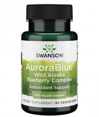 SWANSON AuroraBlue Wild Alaska Blueberry Complex 200 mg / 30 Vcaps