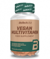 BIOTECH USA Vegan Multivitamin / 60 Tabs