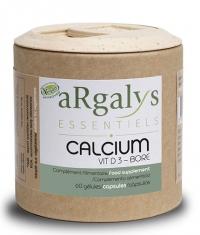 ARGALYS ESSENTIELS Calcium and Vitamin D3 / 60 Caps