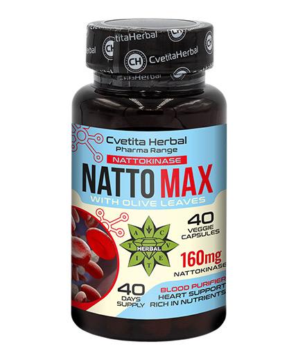 CVETITA HERBAL Natto MAX 160 mg / 40 Caps