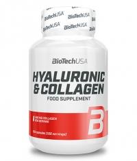 BIOTECH USA Hyaluronic & Collagen / 100 Caps