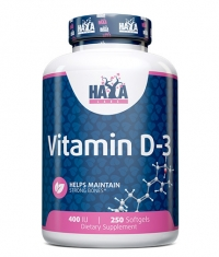 HAYA LABS Vitamin D-3 / 400 IU / 250 Softgels