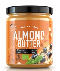 GENIUS NUTRITION Raw Natural Almond Butter
