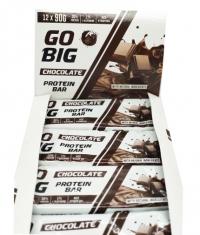 GO BIG Protein Bar Box / 12x90g