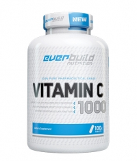 EVERBUILD Vitamin C 1,000mg with Rose Hips / 100 tabs.