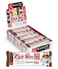 KICKOFF NUTRITION Kick Bar Box / 20 x 40 g