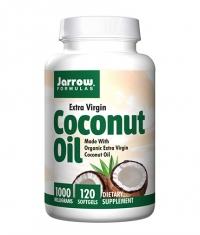Jarrow Formulas Coconut Oil Extra Virgin 1000 mg / 120 Softgels