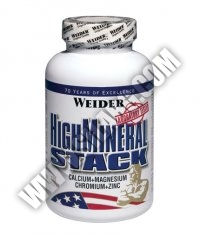 WEIDER High Mineral Stack 120 Caps.