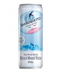 SAN BENEDETTO Natural Mineral Water Can / 330 ml