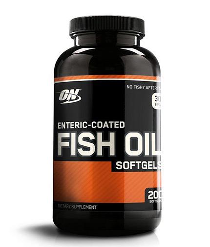 OPTIMUM NUTRITION Fish Oil 200 Softgels