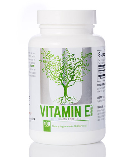 UNIVERSAL Vitamin E Formula 100 Softgels.