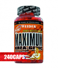 WEIDER Maximum Krea-Genic 240 Caps.