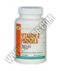 UNIVERSAL Vitamin C Formula 500mg. / 100 Tabs.