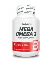 BIOTECH USA Mega Omega 3 / 90 Caps.
