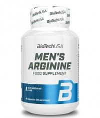 BIOTECH USA Men's Arginine / 90 Caps.