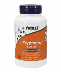 NOW L-Tryptophan 500mg. / 60 VCaps.