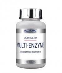 SCITEC Multi-Enzyme 100 Tabs.