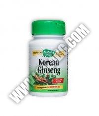 NATURES WAY Korean Ginseng Root 50 Caps.
