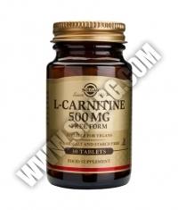 SOLGAR L-Carnitine 500 mg. / 30 Tabs.