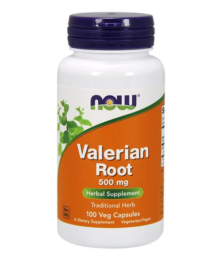 NOW Valerian Root 500mg. / 100 Caps.