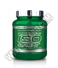 SCITEC Zero Sugar/Fat Isogreat