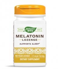 NATURES WAY Melatonin Lozenge 100 Tabs.