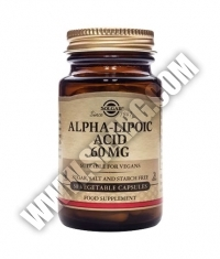 SOLGAR Alpha Lipoic Acid 60mg. / 30 Caps.