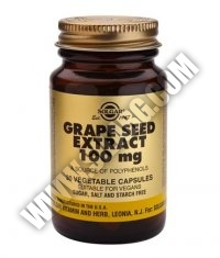 SOLGAR Grape Seed Extract 100mg. / 30 Caps.