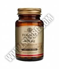 SOLGAR Folic Acid 400ug. / 100 Tabs.