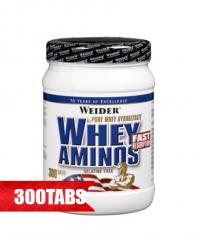 WEIDER Whey Aminos 300 Tabs.