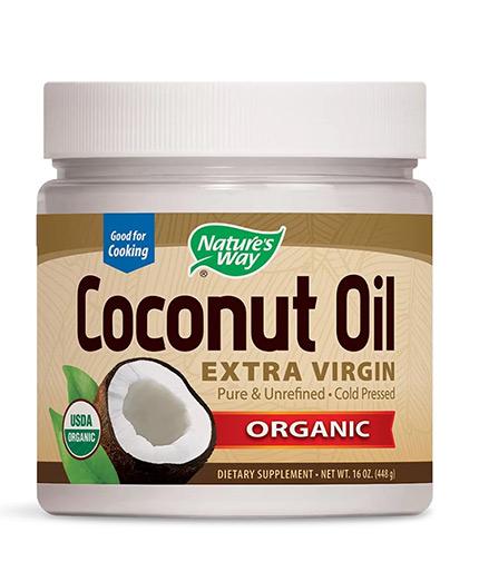 NATURES WAY Coconut Oil / 474 ml