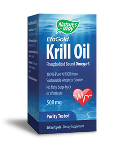 NATURES WAY EfaGold Krill Oil 30 Caps.