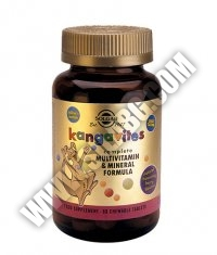 SOLGAR Kangavites Multivitamin for Children / 60tabs